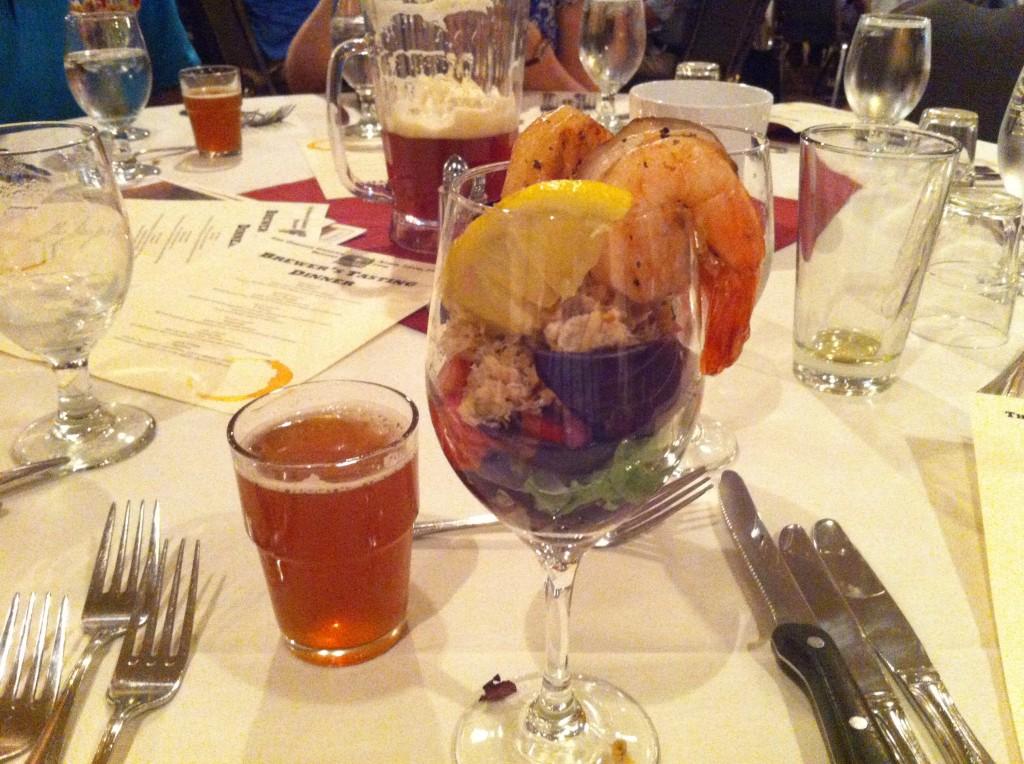 Beer Dinner at Oregon Garden Brewfest