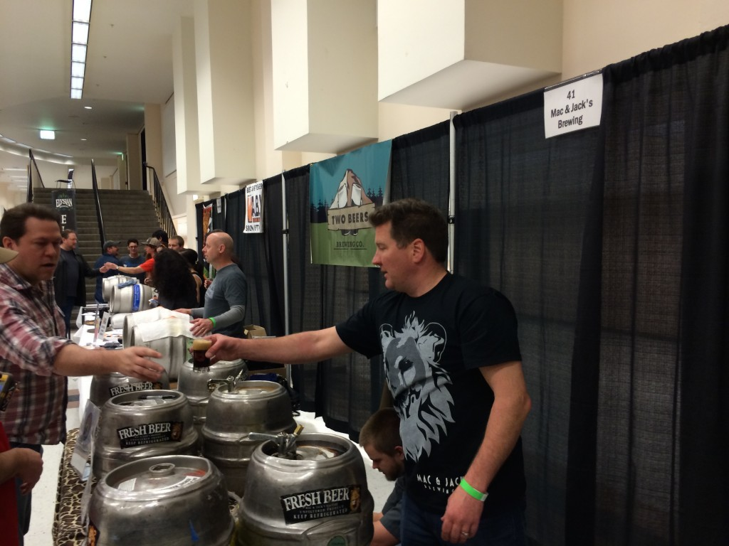 Brewery Lineup at Washington Cask Ale Fest