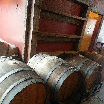 Filling Chard Barrels with Trinity TPS