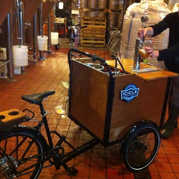 Icicle Brewing Keg Trike