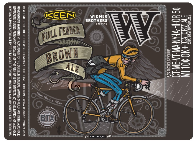 KEEN & Widmer Full Fender Brown Ale