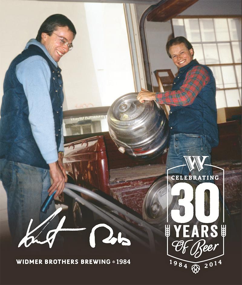 Kurt and Rob Widmer 30 Years