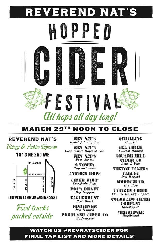 Reverend Nat's Hopped Cider Festival