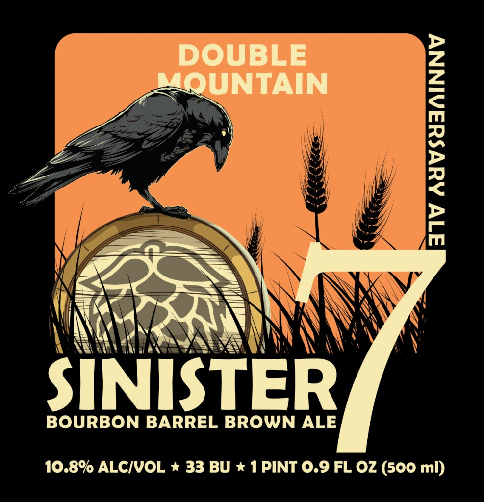 Sinister Seven Bourbon Barrel Brown