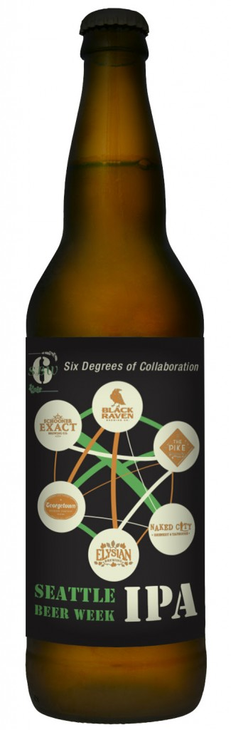 Six Degrees of Collaboration Bottle