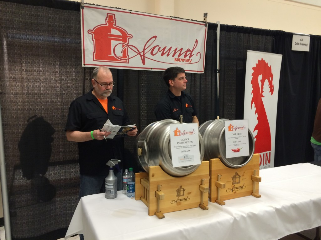 Sound Brewing at the 2014 Washington Cask Ale Fest.