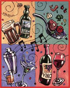 Spring Beer Wine Fest Logo