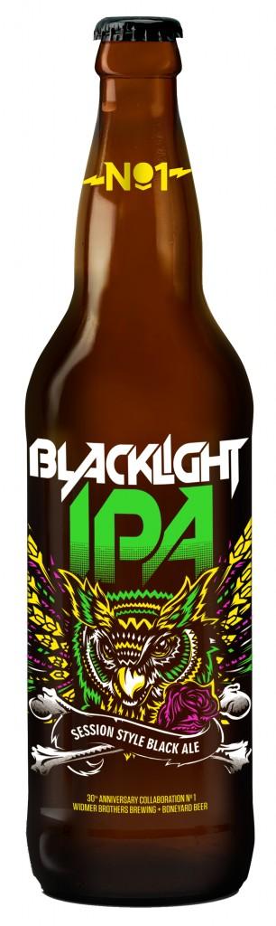 Widmer Boneyard Blacklight IPA Bottle