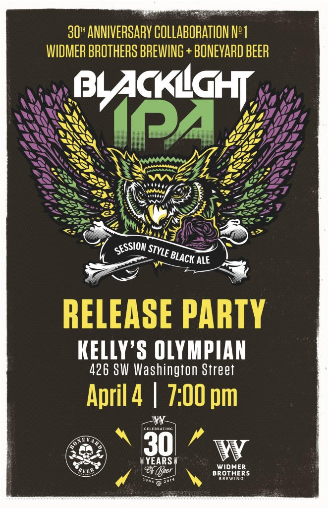 Widmer Boneyard Blacklight IPA Release Party