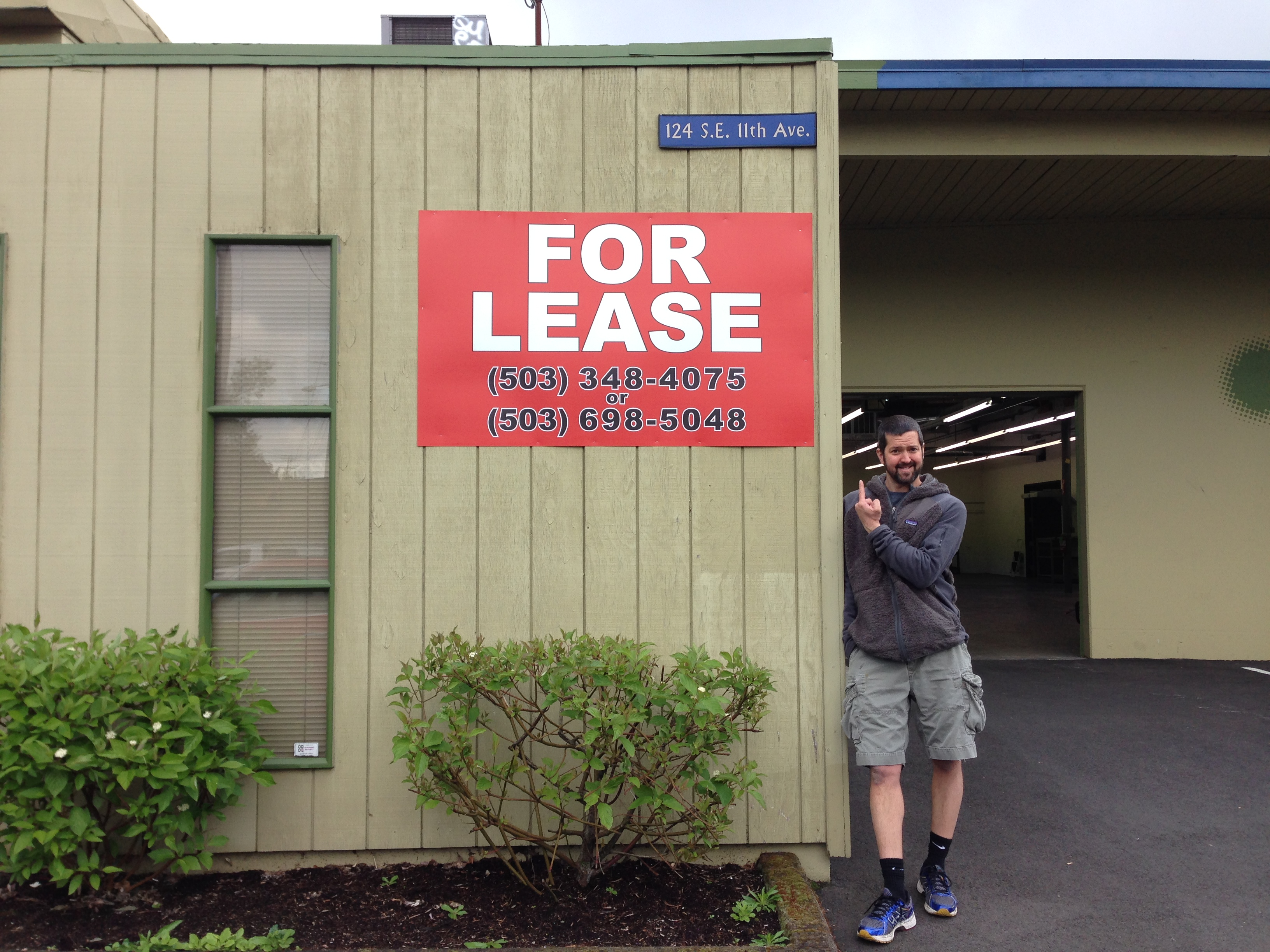 Mt Tabor Brewing founding brewer and owner Eric Surface at the new Southeast Portland brewery location