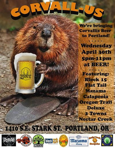 Corvall-Us Beer Event