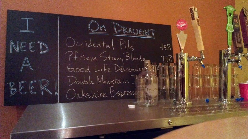 Every Day Wine Draught Board