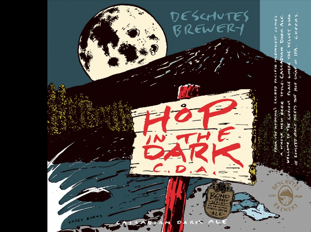 Hop in the Dark Label