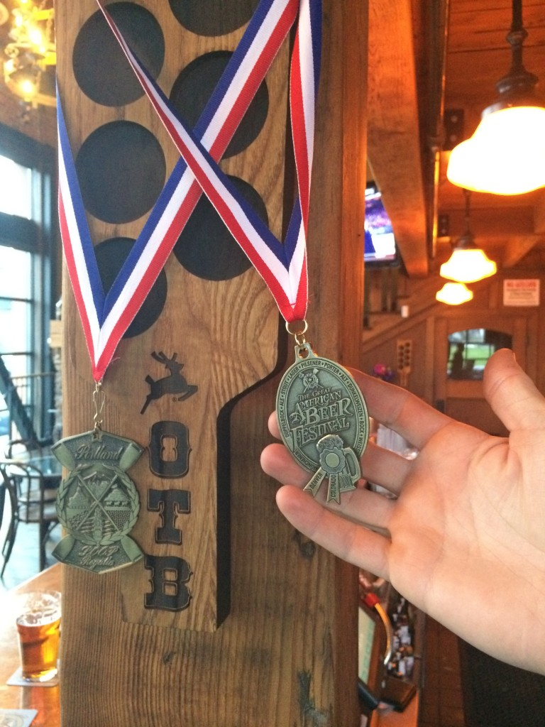 Old Town Brewing 2013 Gold GABF Medal