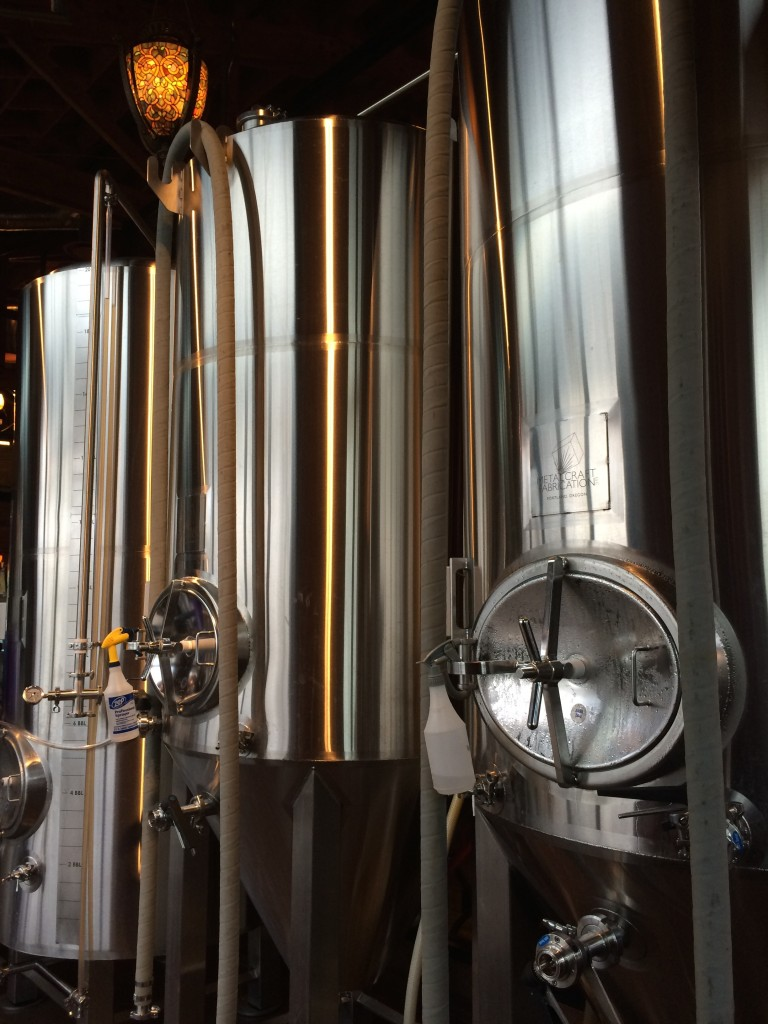 Old Town Brewing Tanks
