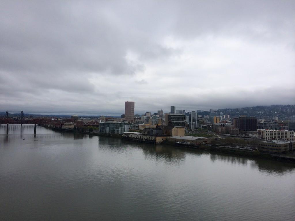 Portland from the Fremont Bridge