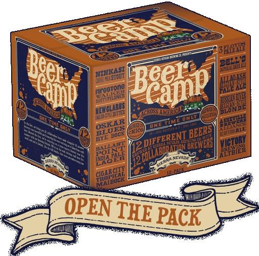Sierra Nevada Beers Across America 12 Pack