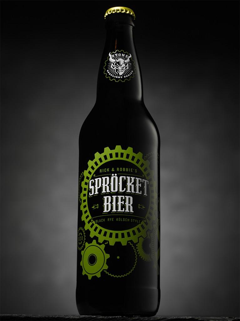 Stone Sprocketbier Bottle