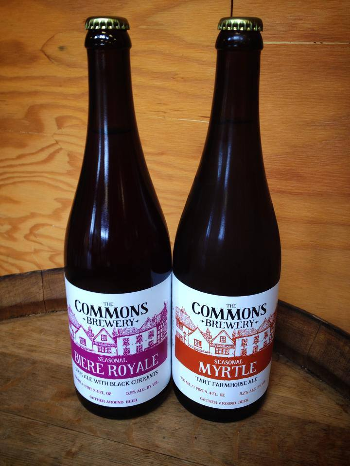 The Commons Biere Royale and Myrtle