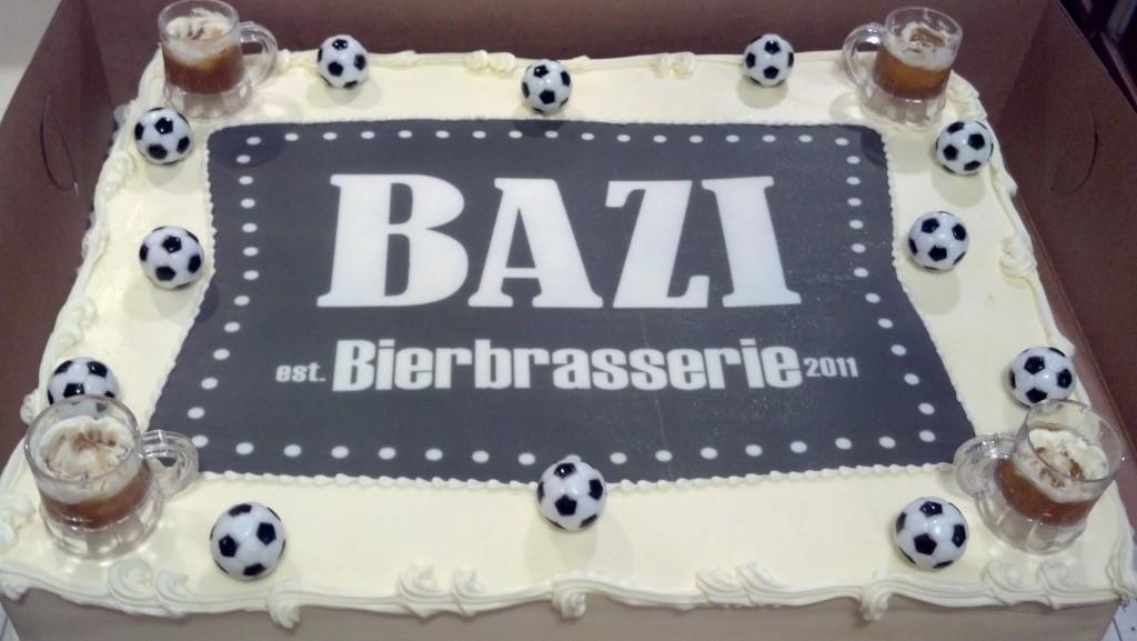 Bazi Anniversary Cake