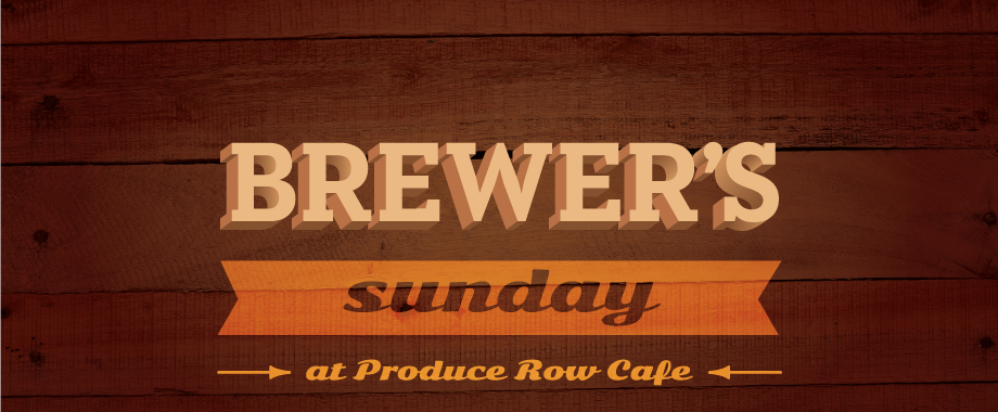 Brewers Sunday at Produce Row