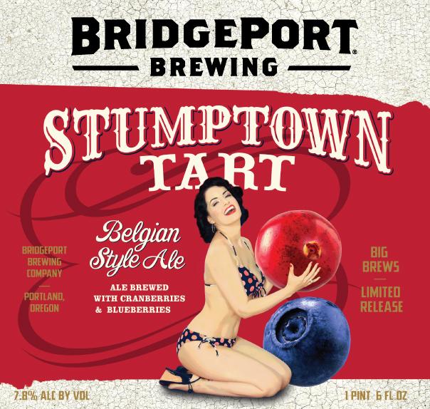 BridgePort Stumptown Tart 2014 Label