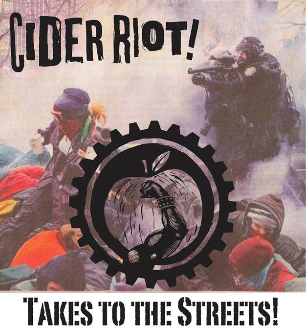 Cider Riot! Takes To The Strets Promo