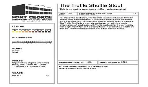 Ft George Truffle Shuffle Stout