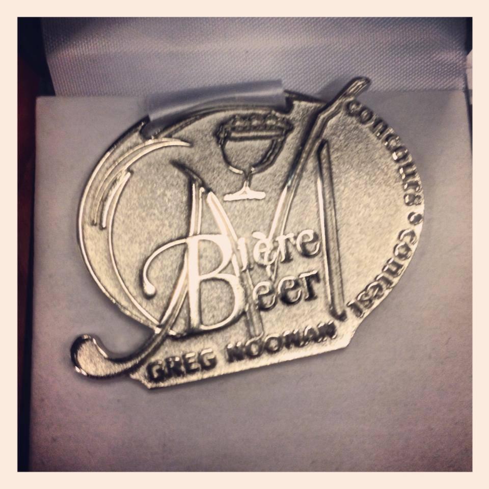 Gigantic Wins The Platinum Medal for The End of Reason at the Mondial de la Biere Festival