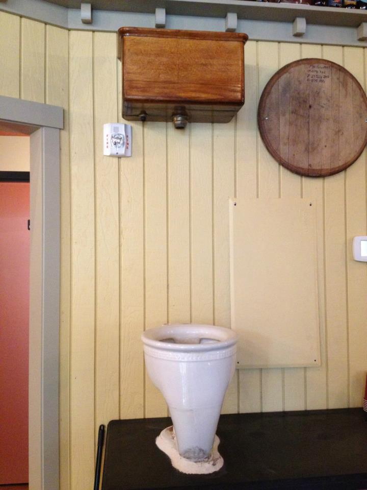 Lompoc Tavern Famous Toilet