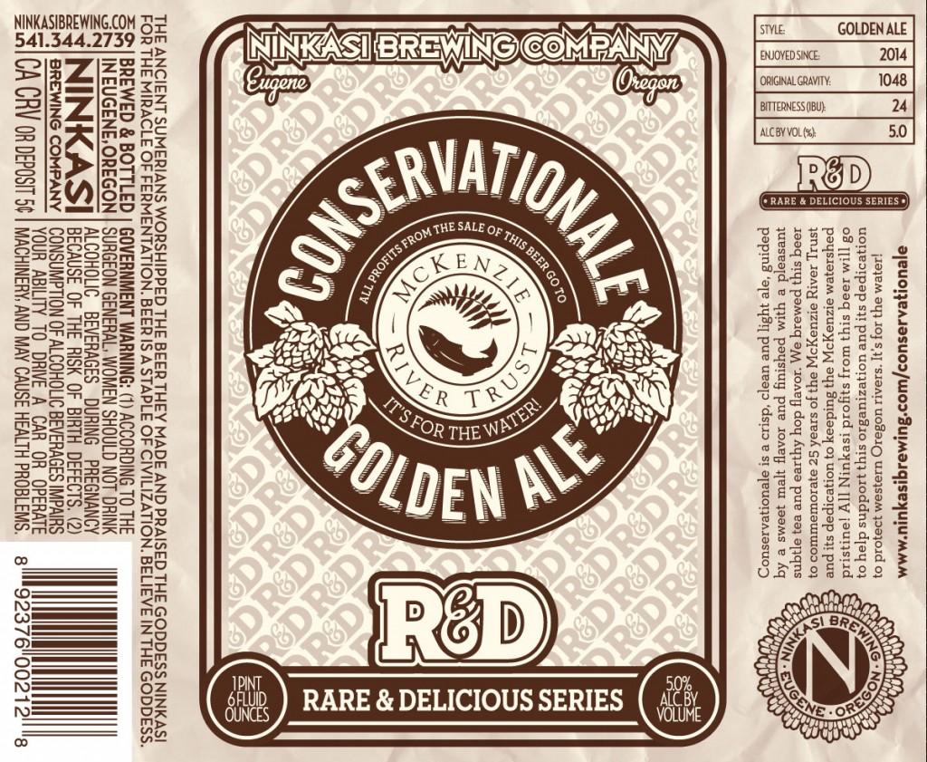 Ninkasi Conservation Golden Ale Label