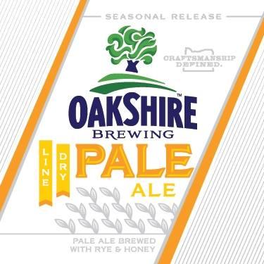 Oakshire Line Dry Pale Ale Label