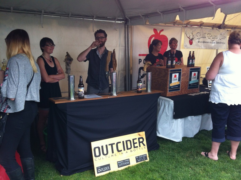 Outcider at 2013 Cider Summit