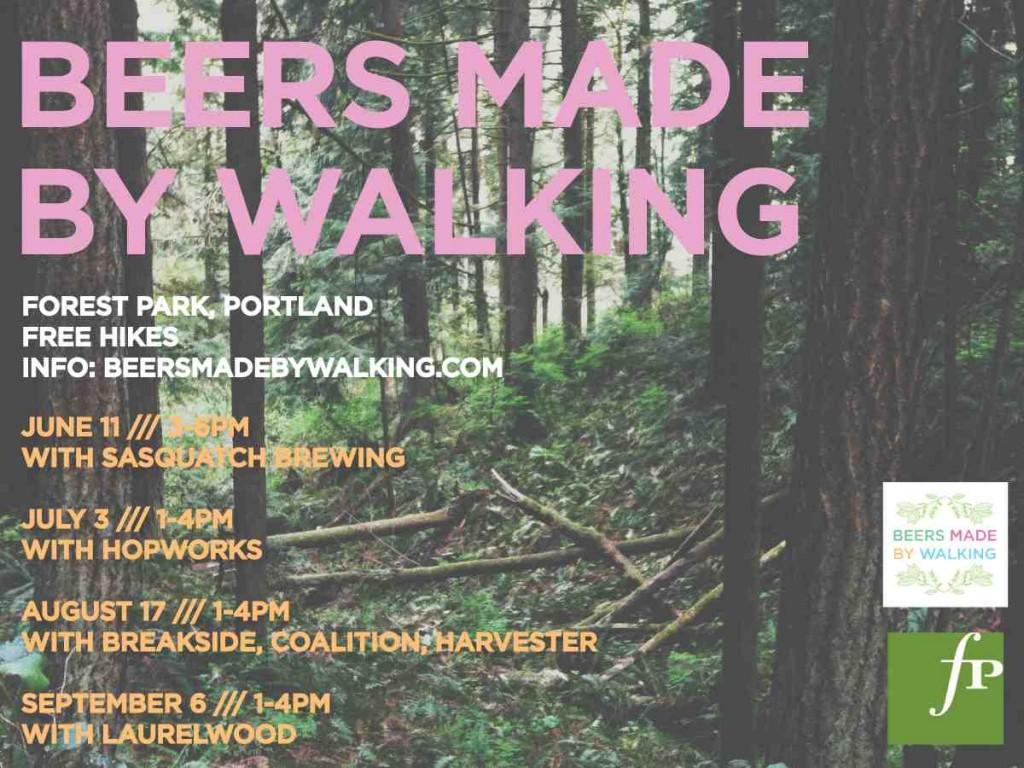 Beers Made By Walking - Portland Summer Hikes