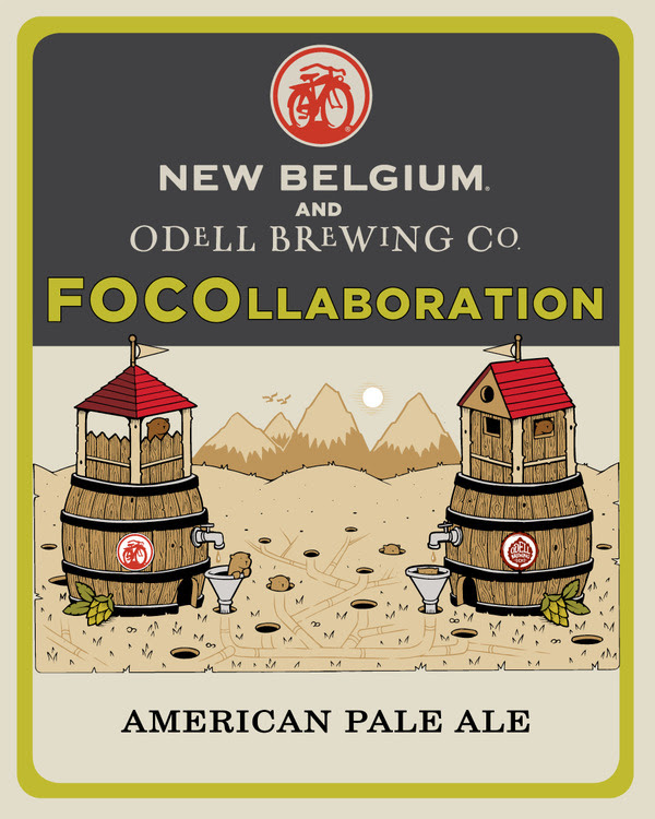 New Belgium and Odell FOCOllaboration American Pale Ale