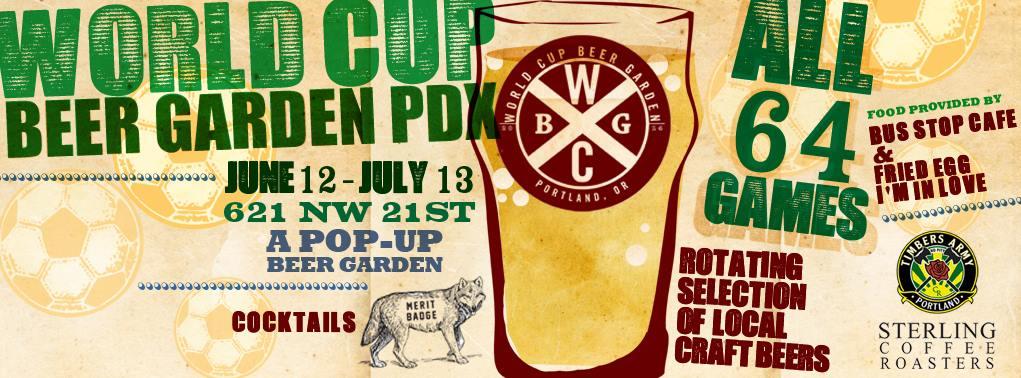 World Cup Beer Garden