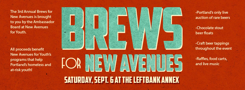 3rd Annual Brews for New Avenues