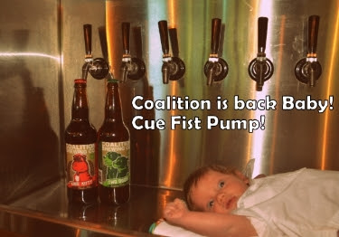 Coalition Brewing Is Back
