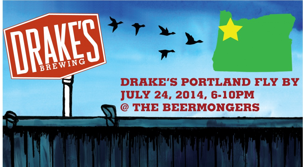 Drakes Portland Fly By at The BeerMongers