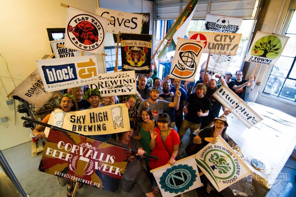 2014 Corvallis Beer Week Group Photo