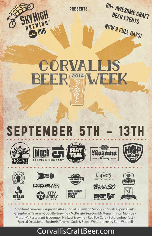 2014 Corvallis Beer Week