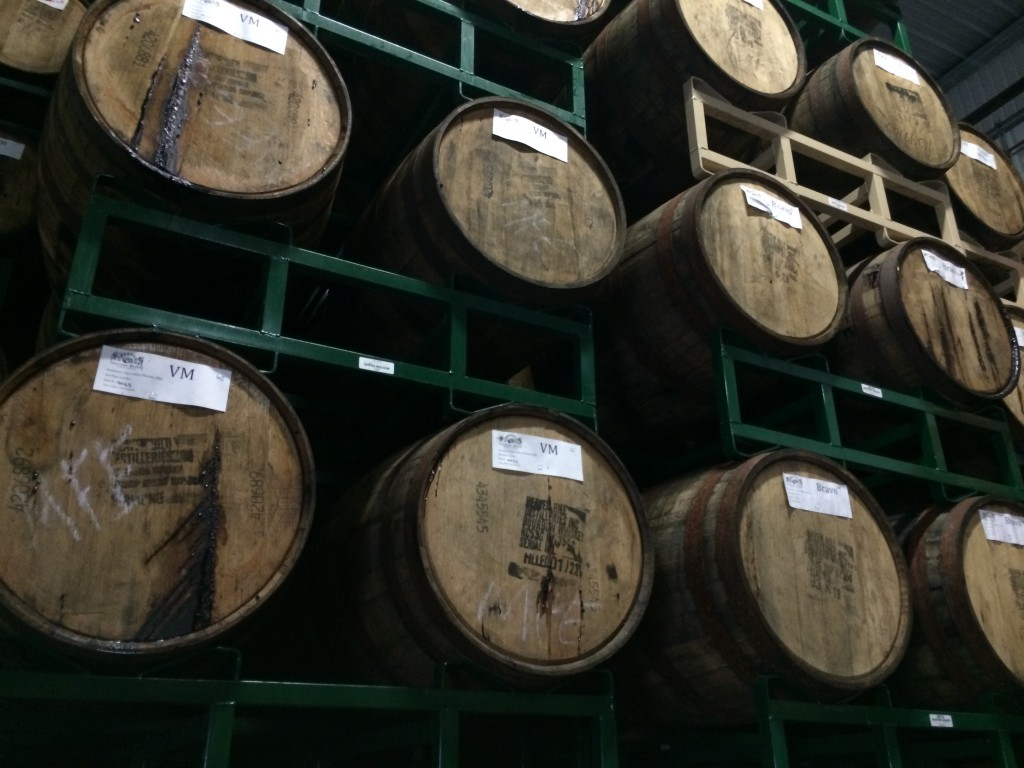 Firestone Walker Barrel Room