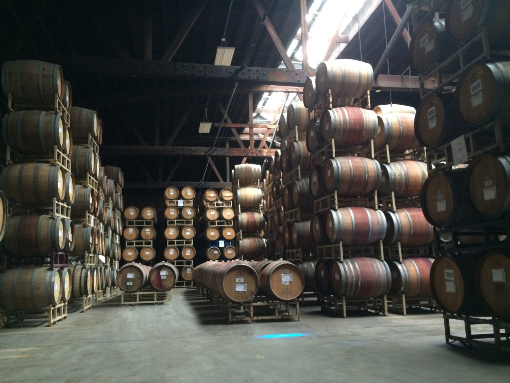 Goose Island Wine Barrel Warehouse