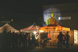 Pacific Northwest Brew Cup at Night