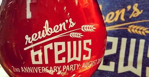 Reuben's Brews 2nd Anniversary Party