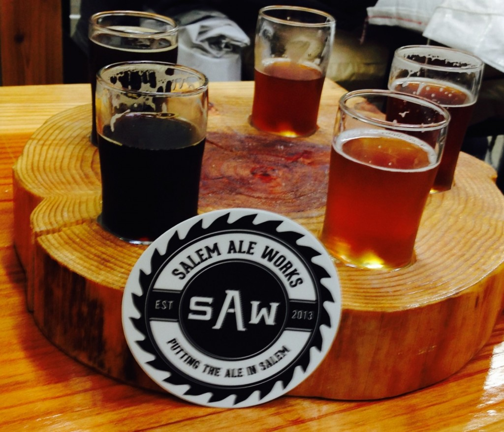 Salem Ale Works Taster Tray