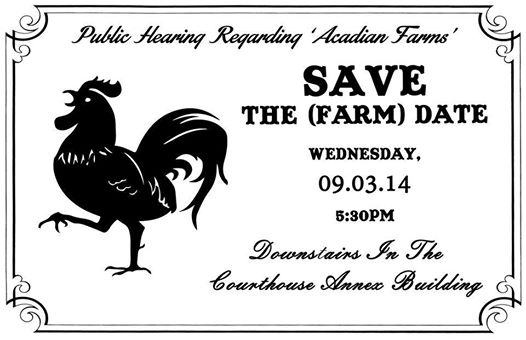 Save Acadian Farms & Brewery
