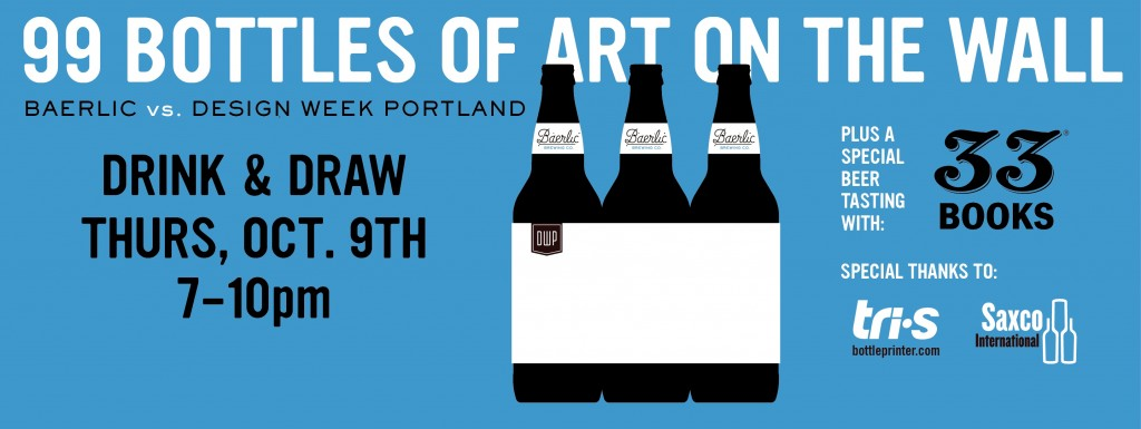 99 Bottles of Art on the Wall at Baerlic Brewing