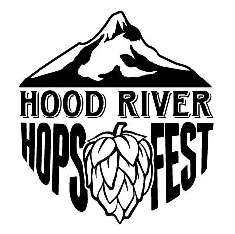 Hood River Hops Fest Square Logo