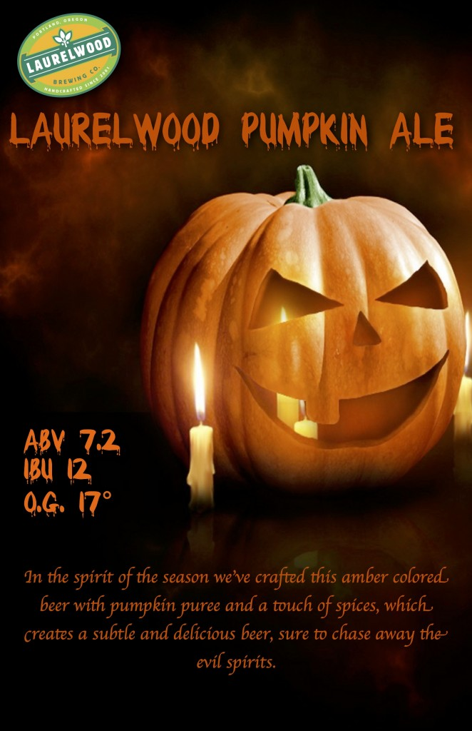 Laurelwood Pumpkin Ale